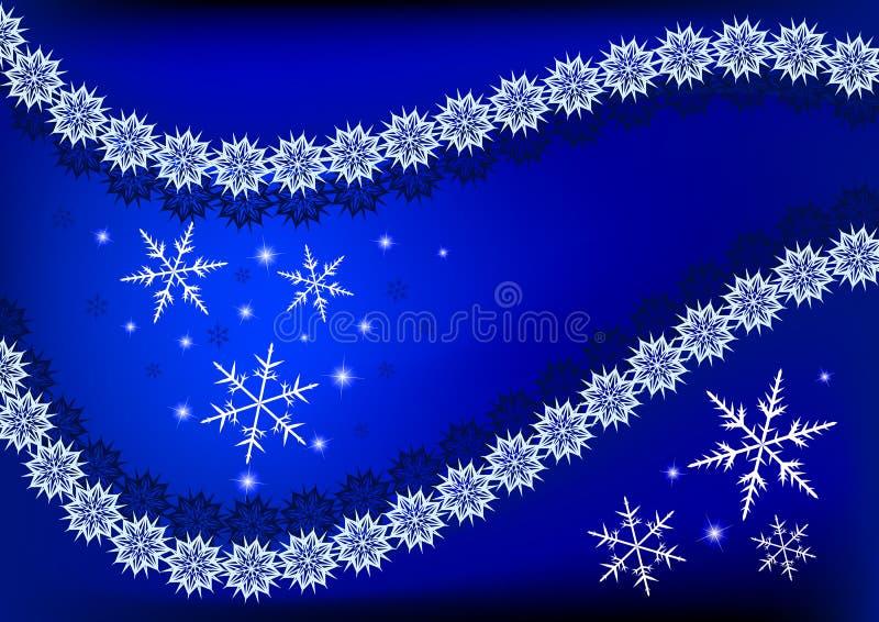 Μαγικές χιονοπτώσεις ελεύθερη απεικόνιση δικαιώματος