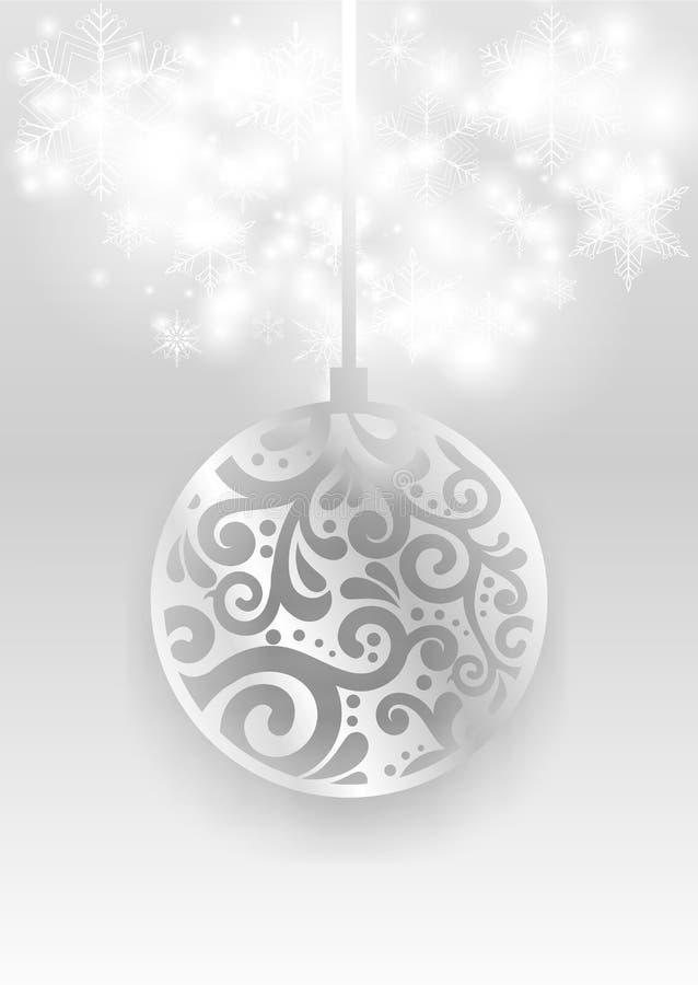 Μαγική κάρτα Χριστουγέννων ελεύθερη απεικόνιση δικαιώματος