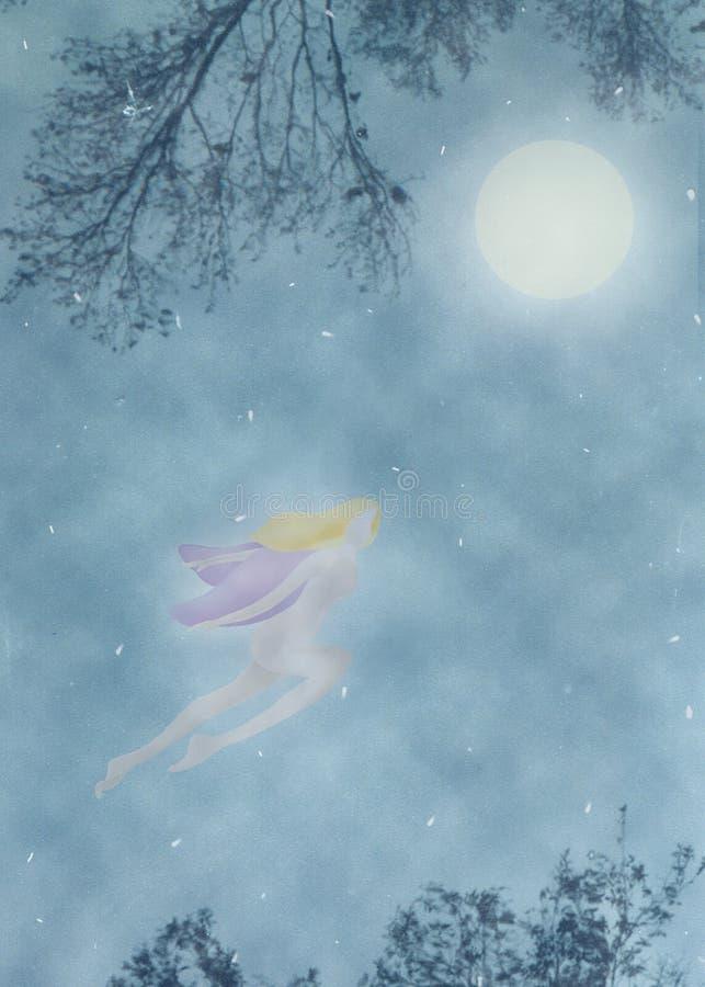 μαγικός μυστικός νεράιδω&n διανυσματική απεικόνιση