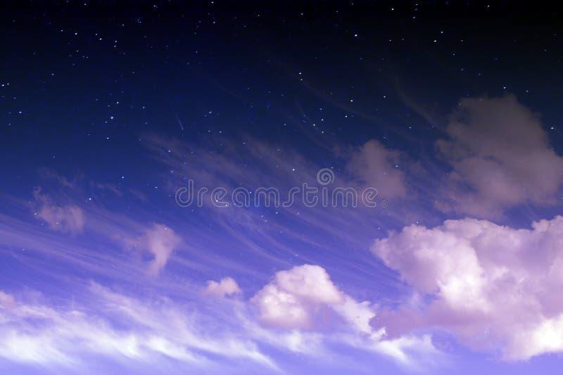Μαγικός ουρανός φαντασίας στοκ εικόνα