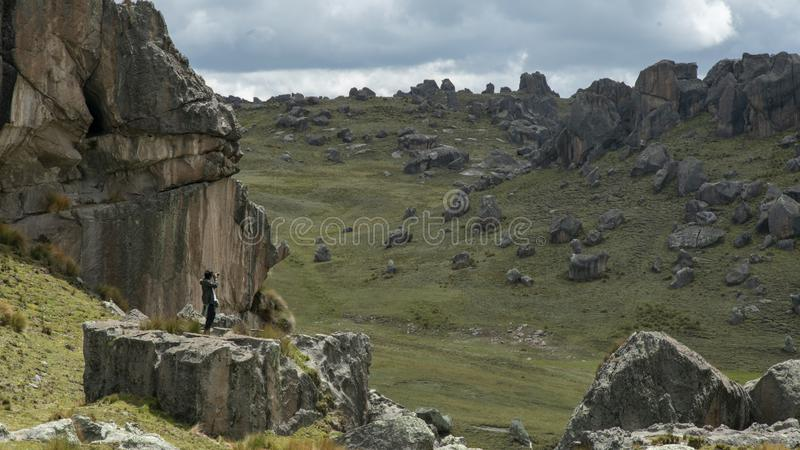 Μαγικός του Περού στοκ φωτογραφίες