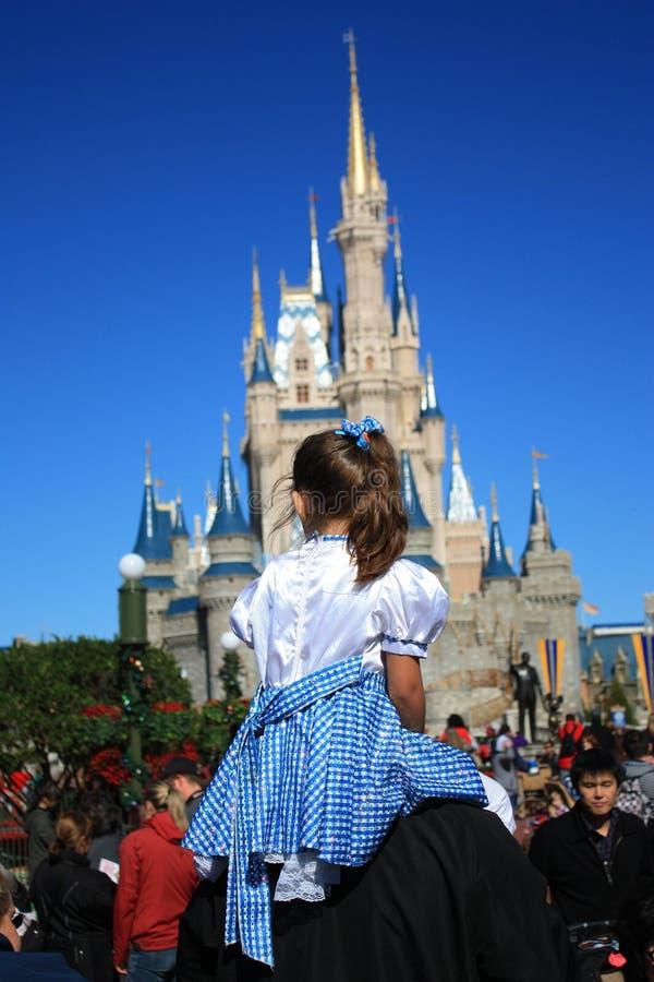 Μαγικό βασίλειο, Disney στοκ φωτογραφία με δικαίωμα ελεύθερης χρήσης