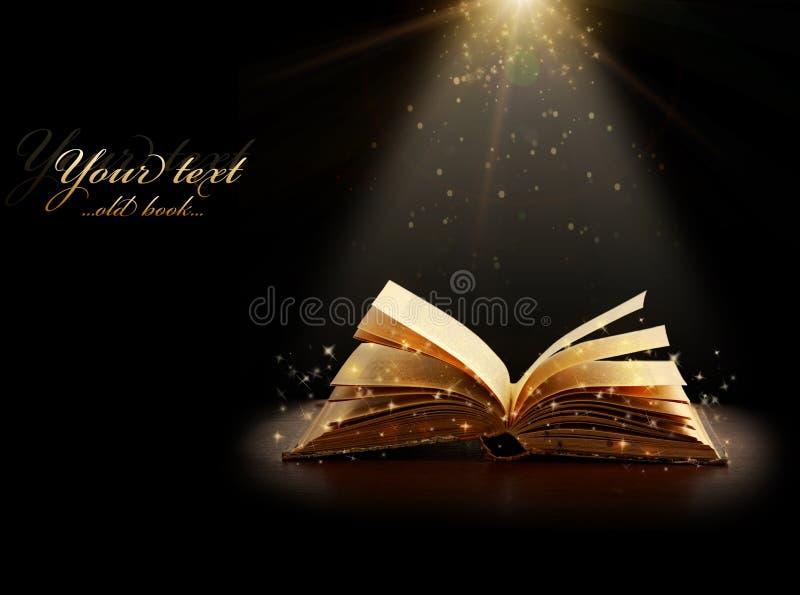 Μαγικό βιβλίο στοκ εικόνα με δικαίωμα ελεύθερης χρήσης