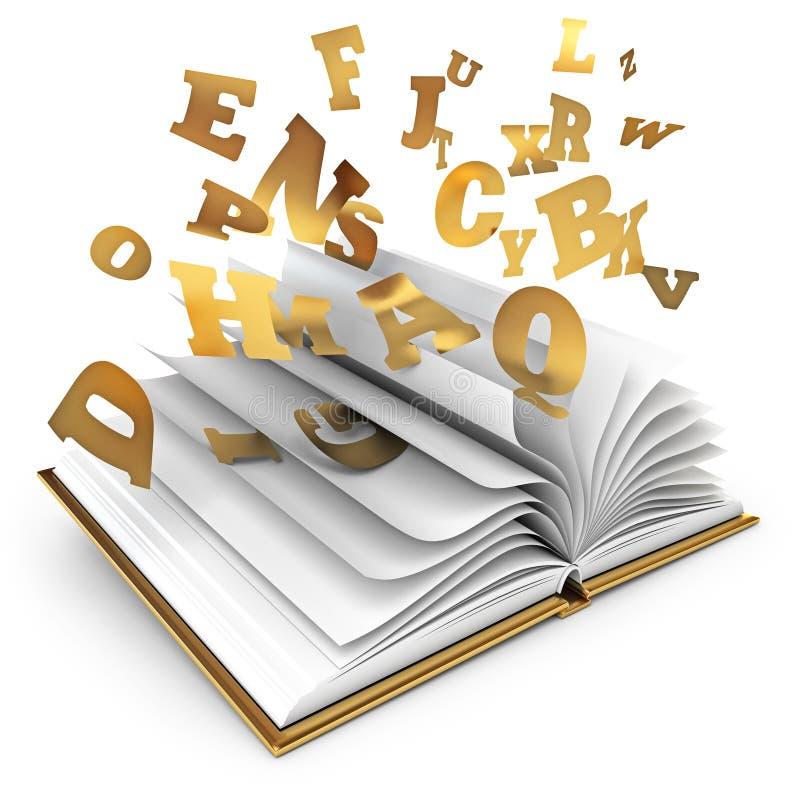 Μαγικό βιβλίο απεικόνιση αποθεμάτων