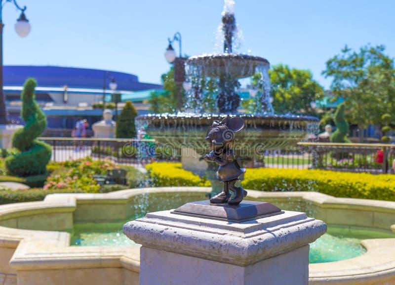 Μαγικό ποντίκι βασίλειων του παγκόσμιου Ορλάντο Φλώριδα της Disney minnie στοκ εικόνα με δικαίωμα ελεύθερης χρήσης
