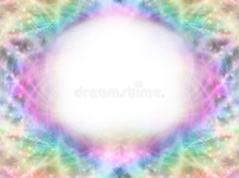 Μαγικό συμμετρικό πλαίσιο διανυσματική απεικόνιση