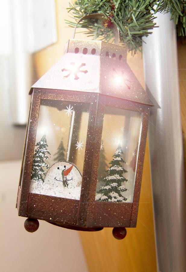 Μαγικό φανάρι Χριστουγέννων 2019 στοκ φωτογραφίες