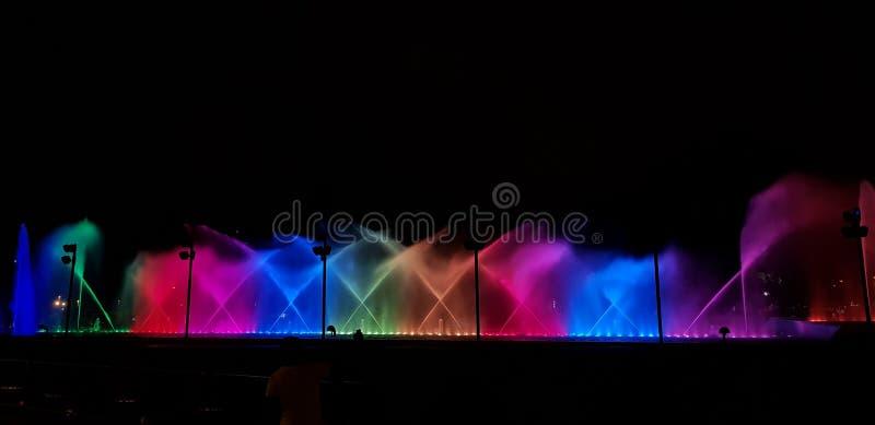 Μαγικό χρώμα του νερού στοκ εικόνες