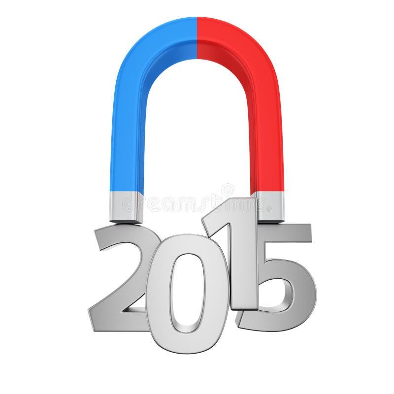 Μαγνήτης 2015 στοκ εικόνες με δικαίωμα ελεύθερης χρήσης
