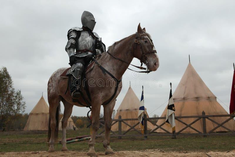 Μαγνητοσκόπηση του νέου κινηματογράφου οι ιππότες στοκ φωτογραφίες με δικαίωμα ελεύθερης χρήσης