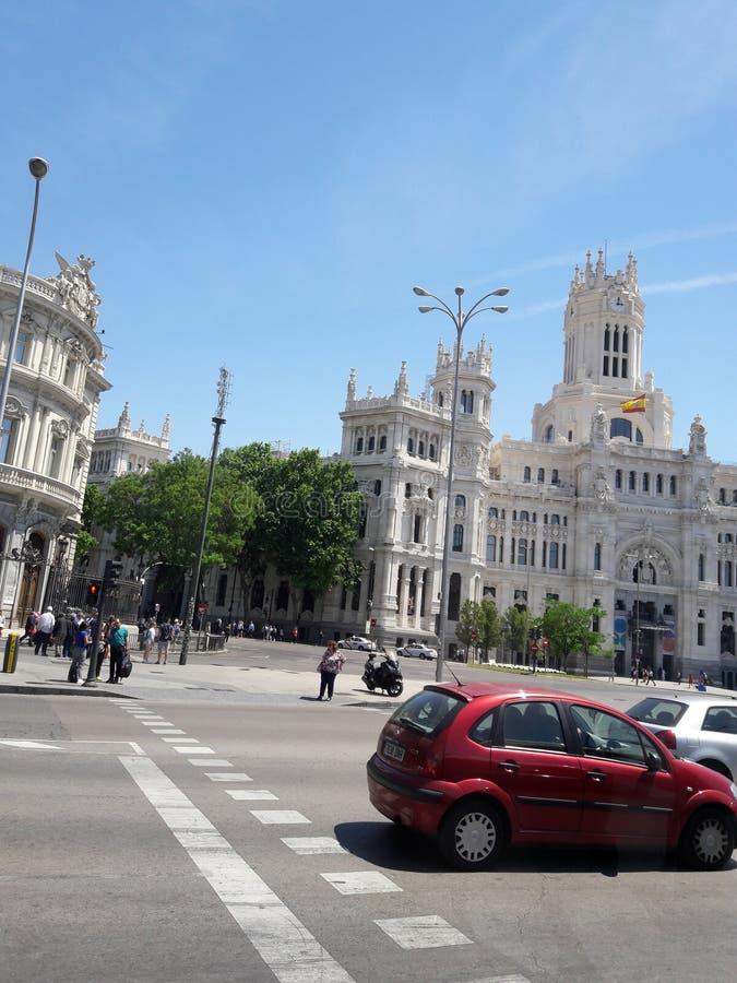 Μαδρίτη στοκ εικόνα με δικαίωμα ελεύθερης χρήσης