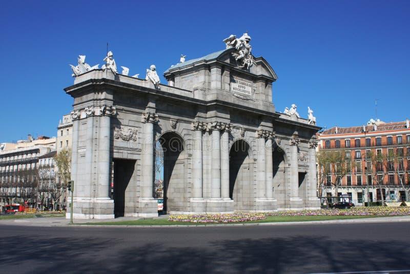 Μαδρίτη στοκ εικόνες με δικαίωμα ελεύθερης χρήσης