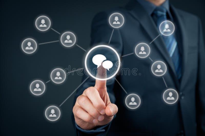 Μαζικές μάρκετινγκ και συζήτηση στοκ φωτογραφίες με δικαίωμα ελεύθερης χρήσης