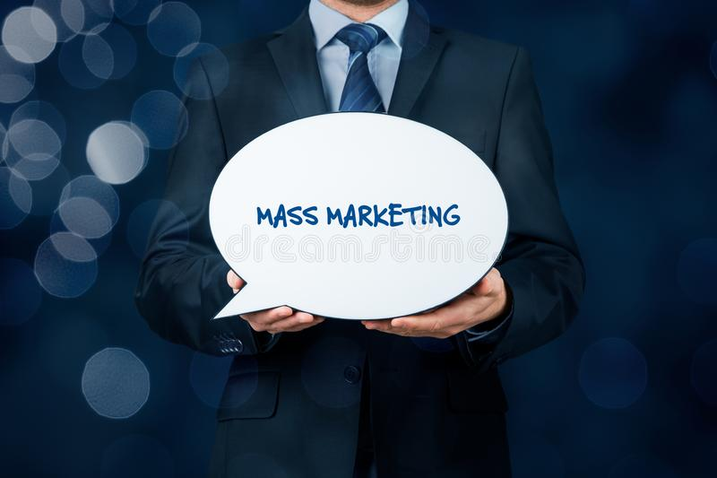 Μαζικό μάρκετινγκ στοκ φωτογραφίες με δικαίωμα ελεύθερης χρήσης