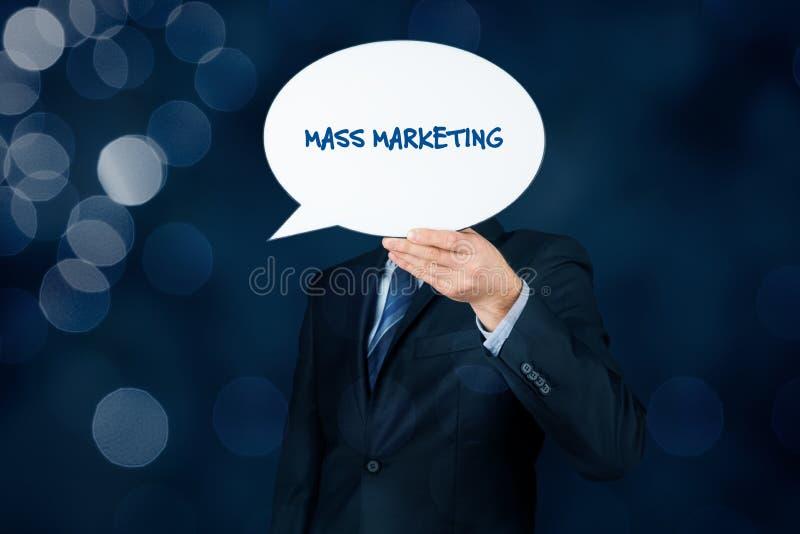 Μαζικό μάρκετινγκ στοκ εικόνα