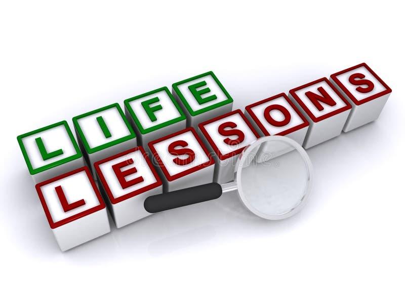 Μαθήματα ζωής στοκ φωτογραφία