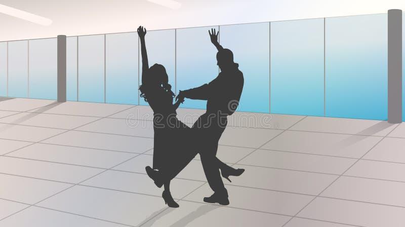 μαθήματα χορού ελεύθερη απεικόνιση δικαιώματος