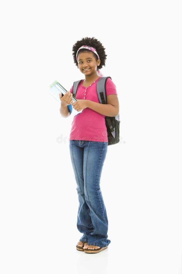 μαθήτρια στοκ φωτογραφία