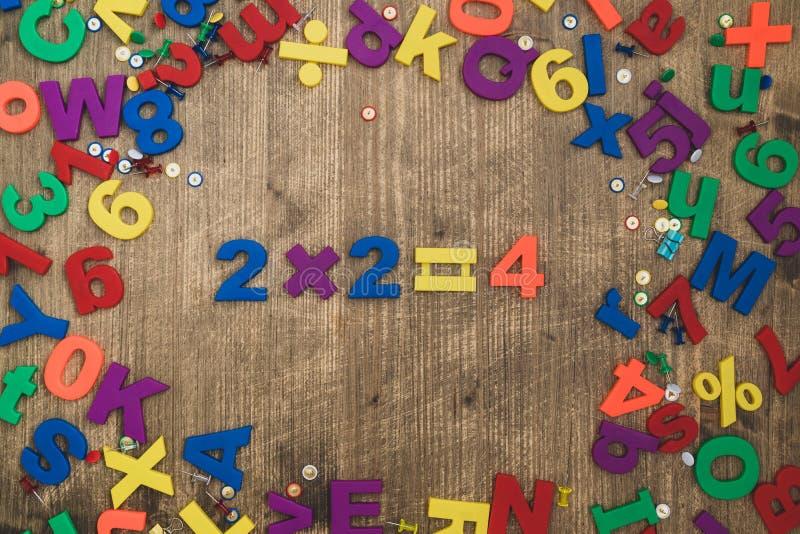 Μαθηματικά για παιδιά στοκ εικόνες με δικαίωμα ελεύθερης χρήσης