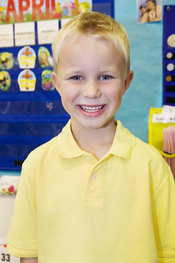 Μαθητής στην τάξη στοκ φωτογραφία