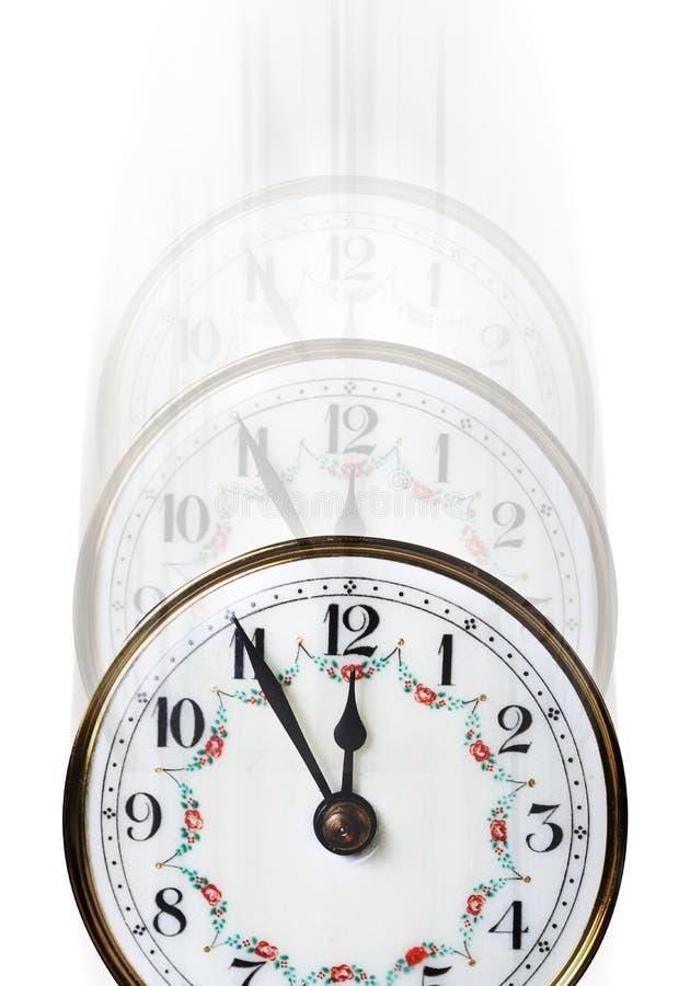 μακριά χρονομετρήστε τον εξασθενίζοντας χρόνο στοκ εικόνες