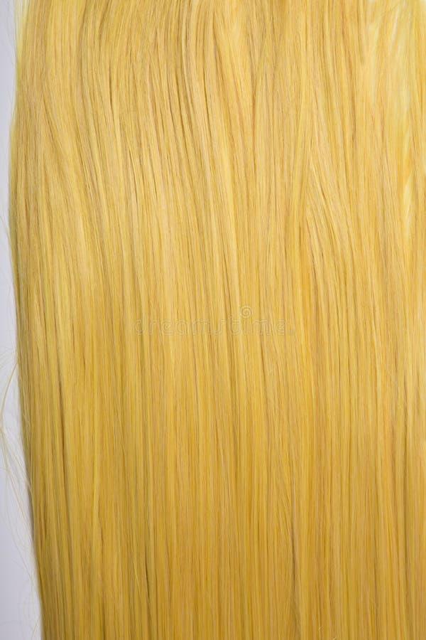 Μακριά χρυσά ξανθά μαλλιά στοκ εικόνες