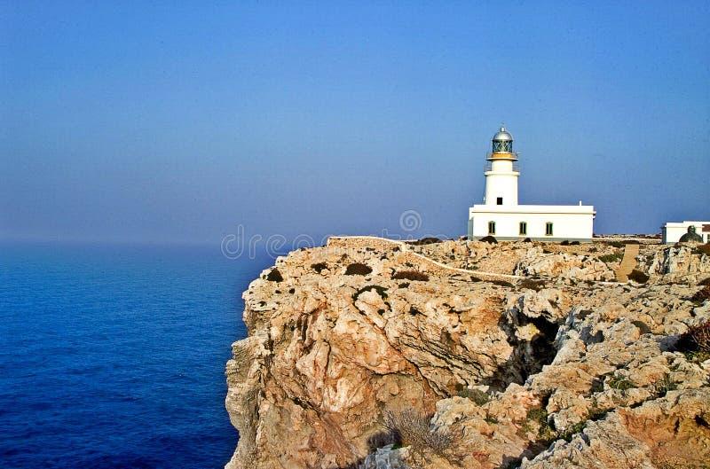 Μακρινό de Cavalleria Lighthouse στοκ εικόνες με δικαίωμα ελεύθερης χρήσης
