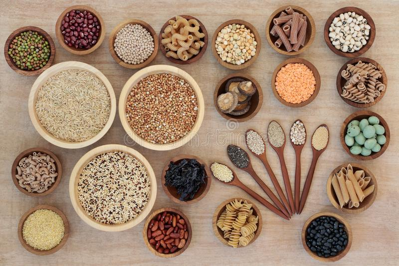 Μακροβιοτική υγιεινή διατροφή διατροφής στοκ φωτογραφία με δικαίωμα ελεύθερης χρήσης