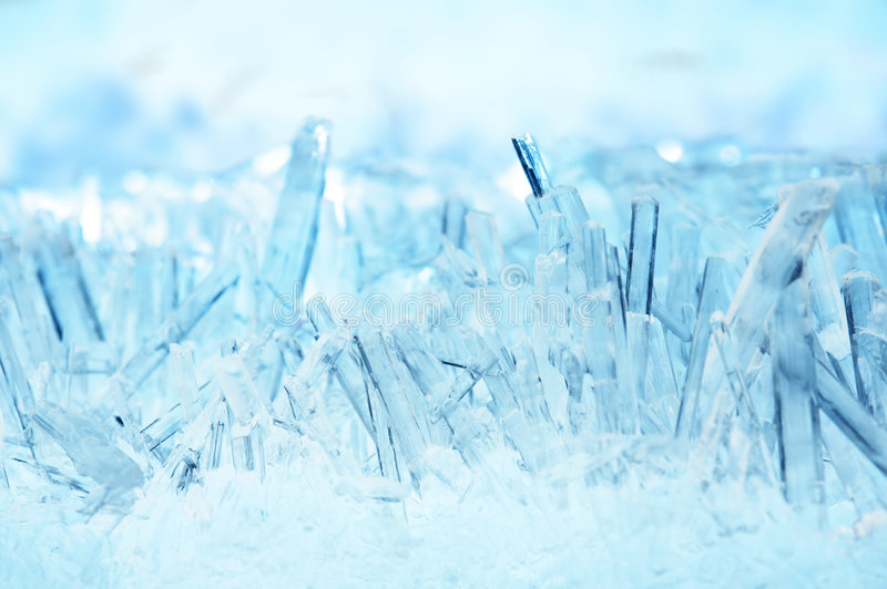μακροεντολή κρυστάλλων στοκ φωτογραφίες