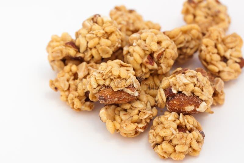μακροεντολή granola στοκ εικόνες