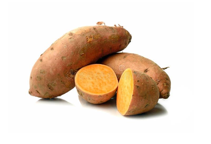 Γλυκές πατάτες στοκ φωτογραφίες