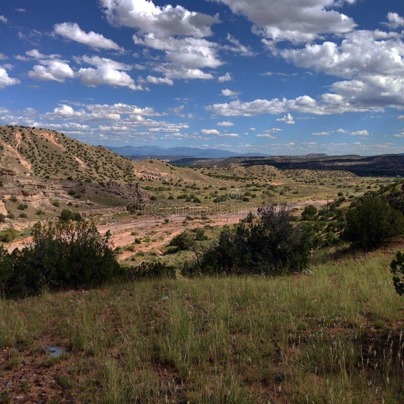 Μακροχρόνια άποψη mesa στοκ φωτογραφία με δικαίωμα ελεύθερης χρήσης