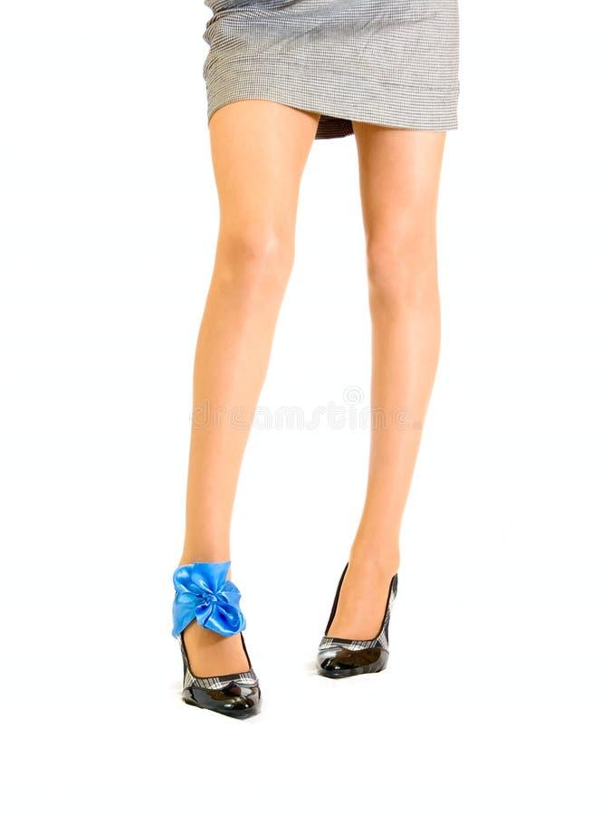 μακροχρόνια womans ποδιών στοκ φωτογραφία με δικαίωμα ελεύθερης χρήσης