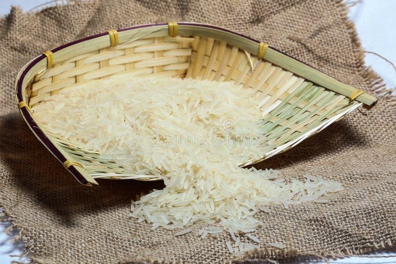 μακροχρόνιο λευκό ρυζι&omicr στοκ φωτογραφίες