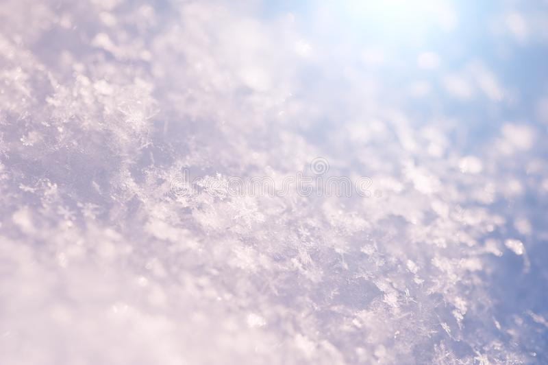 Μακρο εικόνα snowflakes στοκ φωτογραφίες με δικαίωμα ελεύθερης χρήσης