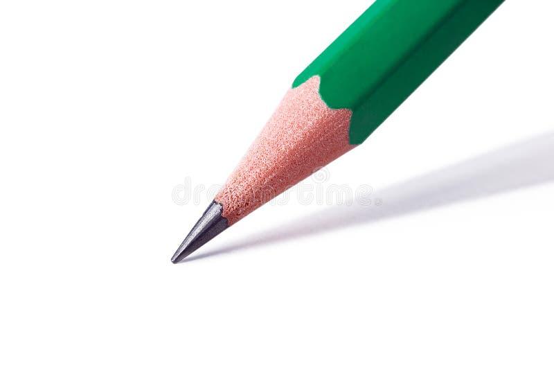 μακρο λευκό μολυβιών αν&al στοκ φωτογραφία με δικαίωμα ελεύθερης χρήσης