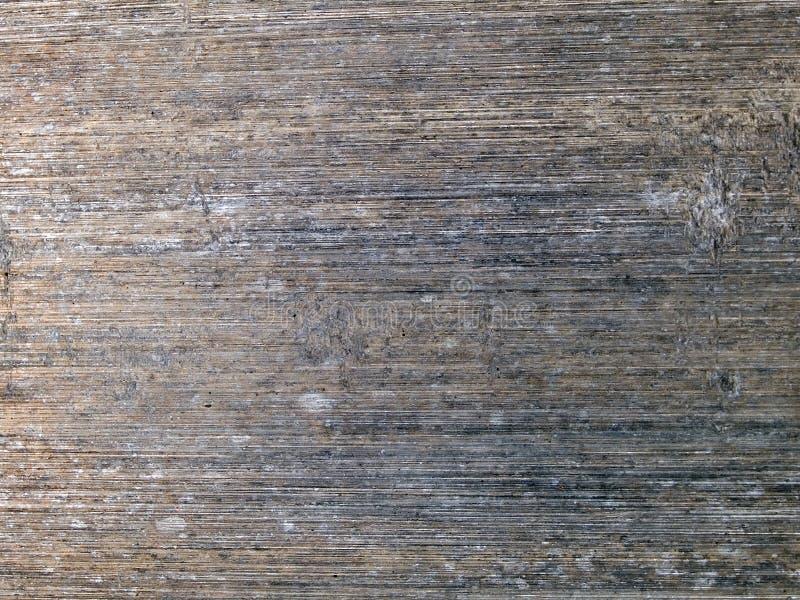Μακρο σύσταση - μέταλλο - που ραβδώνεται στοκ εικόνες με δικαίωμα ελεύθερης χρήσης