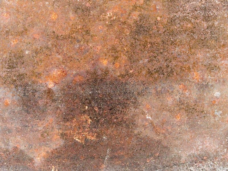 Μακρο σύσταση - μέταλλο - σκουριασμένο στοκ εικόνες