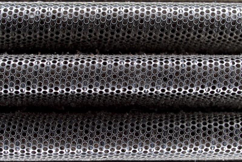 Μακρο σύσταση - οικογένεια - φύλλο αλουμινίου ξυραφιών στοκ φωτογραφία