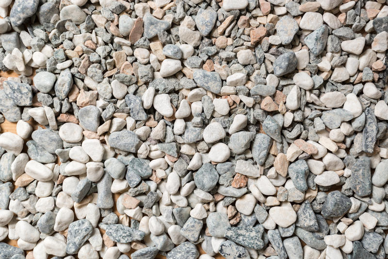 Μακρο σύσταση των ζωηρόχρωμων πετρών και των χαλικιών στοκ φωτογραφία