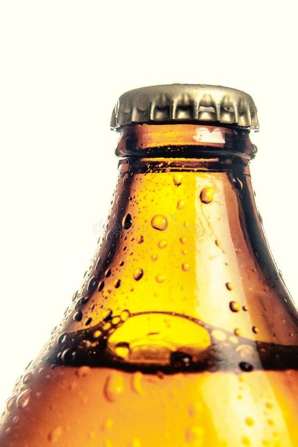 Μακρο φυσαλίδες μπύρας τοπ ΚΑΠ στοκ φωτογραφία με δικαίωμα ελεύθερης χρήσης