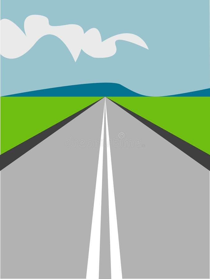 μακρύς δρόμος απεικόνιση&sigma απεικόνιση αποθεμάτων