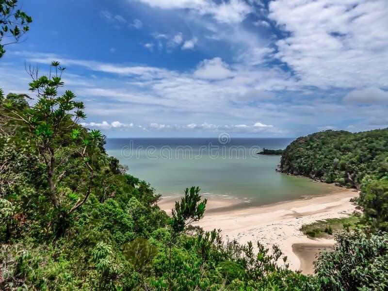 Μαλαισία - κρυμμένη παραλία στοκ φωτογραφίες με δικαίωμα ελεύθερης χρήσης