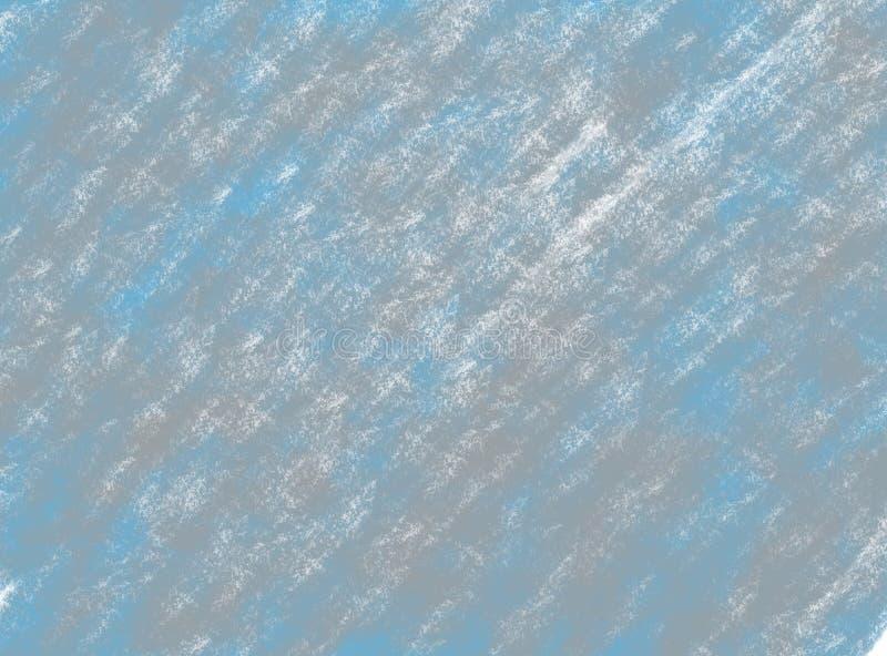 Μαλακός-χρώματος εκλεκτής ποιότητας υπόβαθρο watercolor κρητιδογραφιών αφηρημένο grunge με τις χρωματισμένες σκιές του μπλε και γ διανυσματική απεικόνιση