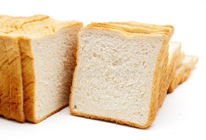 Μαλακό άσπρο ψωμί στοκ φωτογραφίες