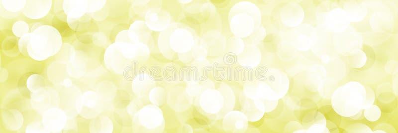 Μαλακό φωτεινό αφηρημένο έμβλημα Bokeh ελεύθερη απεικόνιση δικαιώματος
