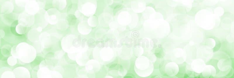 Μαλακό φωτεινό αφηρημένο έμβλημα Bokeh διανυσματική απεικόνιση