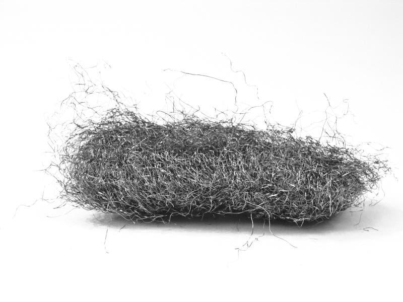 μαλλί χάλυβα στοκ εικόνες με δικαίωμα ελεύθερης χρήσης