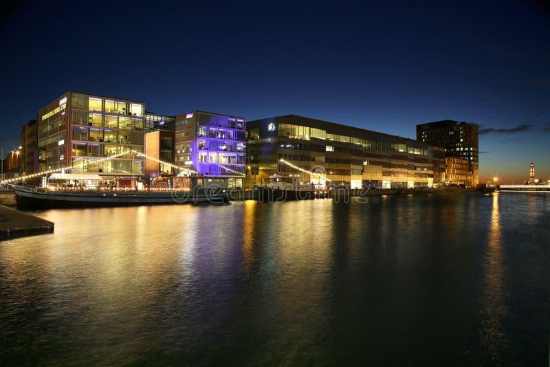 ΜΑΛΜΟΕ, ΣΟΥΗΔΙΑ - 16 ΑΥΓΟΎΣΤΟΥ 2016: Άποψη της όμορφης σκηνής α νύχτας στοκ εικόνα με δικαίωμα ελεύθερης χρήσης