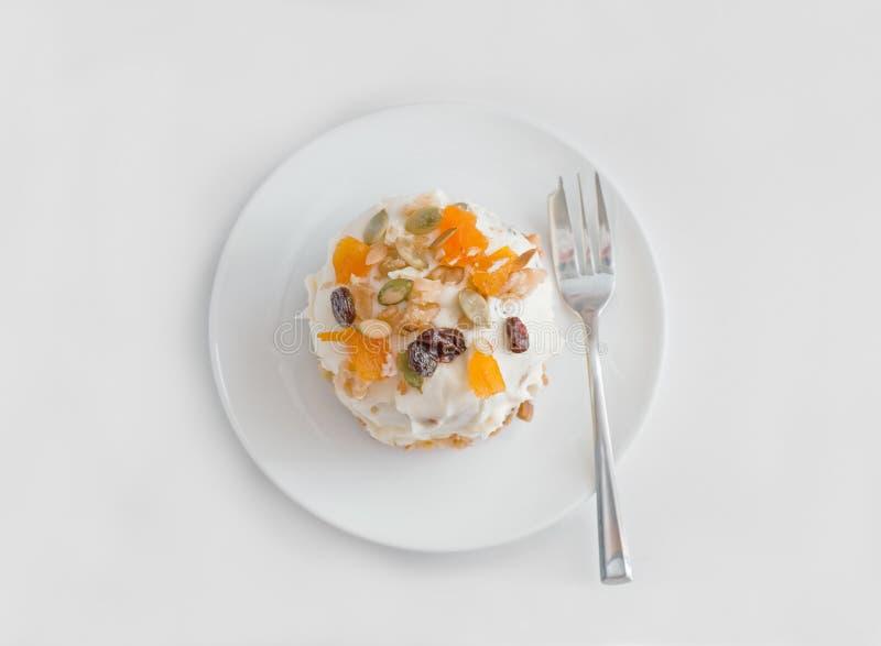 μανία καρότων 2 κέικ στοκ εικόνα